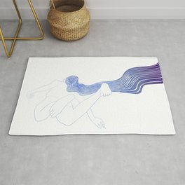 Water Nymph LV Rug