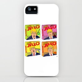 Trump Jell-O Art iPhone Case