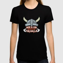 Viking Baby Son Dad Fathers Day Valhalla Gods Gift T-shirt