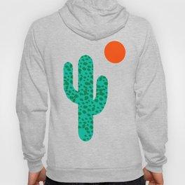 No Foolin - retro throwback neon art design minimal abstract cactus desert palm springs southwest  Hoody