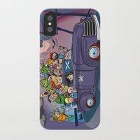 van iPhone & iPod Cases featuring Van by manuvila