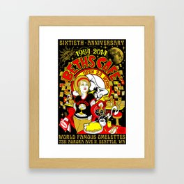 Beth's Cafe 60th Anniversary Framed Art Print