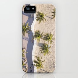 Fort Lauderdale from aerial point of view iPhone Case