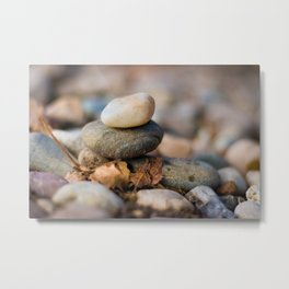 rock stack Metal Print