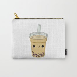 Chocolate Bubble Tea Carry-All Pouch
