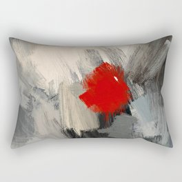 Hunting the white Dwarf in the Red forest no. 1 Rectangular Pillow