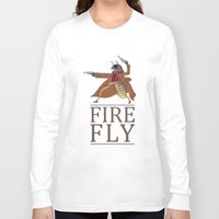 firefly Long Sleeve T-shirts featuring Firefly by Evan Raynor