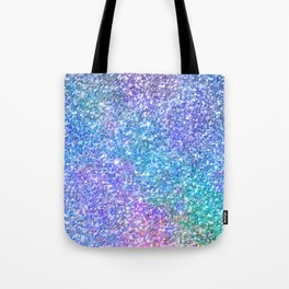 Colorful Glitter Texture Tote Bag