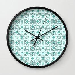 Mint Julep Wall Clock