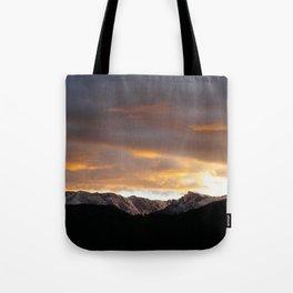 Sunset on Trail Ridge 3 Tote Bag