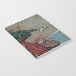 Vintage Lobster Guitar Serenade Illustration (1914) Notebook