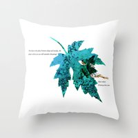tinker bell Throw Pillows featuring Tinker Bell I'll always love you by Chien-Yu Peng