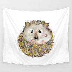 Little Hedgehog Wall Tapestry