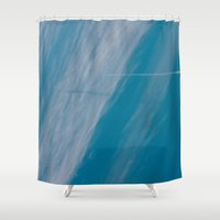 plane Shower Curtains featuring Plane by HMS James