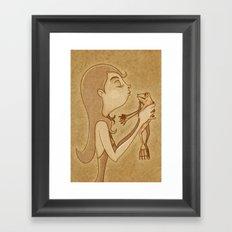 Beso3 Framed Art Print