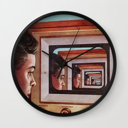 'Everything, All Of The Time' Wall Clock