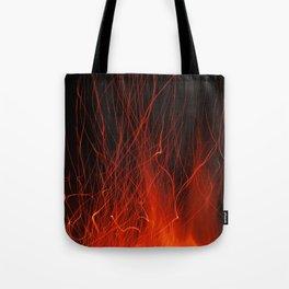 Fire 2010 Tote Bag
