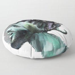 AfroAquaMan Floor Pillow
