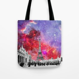 NEBULA VINTAGE PARIS Tote Bag