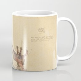 Egon Schiele - I Will Gladly Endure for Art and My Loved Ones Coffee Mug