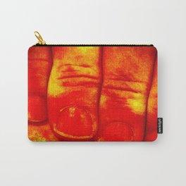 Dedos Rojos Carry-All Pouch