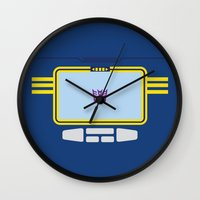 transformers Wall Clocks featuring Soundwave Transformers Minimalist by Jamesy