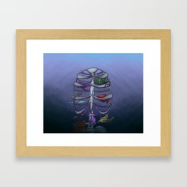 Final Fish Framed Art Print