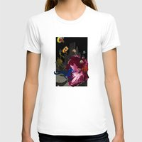 hibiscus T-shirts featuring Hibiscus by Antoine Revoy