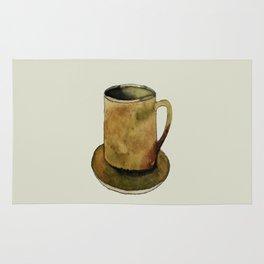 Mug on Plate Rug