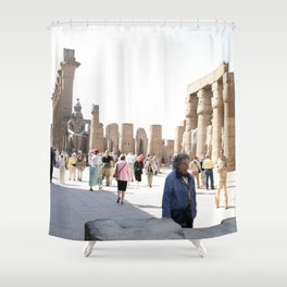 Temple of Luxor, no. 27 Shower Curtain