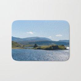 Typical Scottish Highlands landscape - Highlands, Scotland, UK Bath Mat