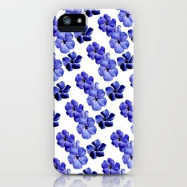 Blue Lullaby iPhone Case
