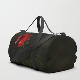 The wild red rose Duffle Bag