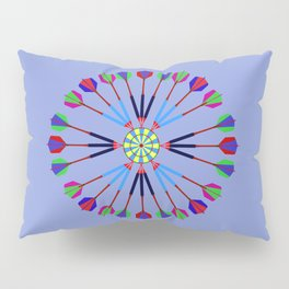 Game of Darts Design Pillow Sham