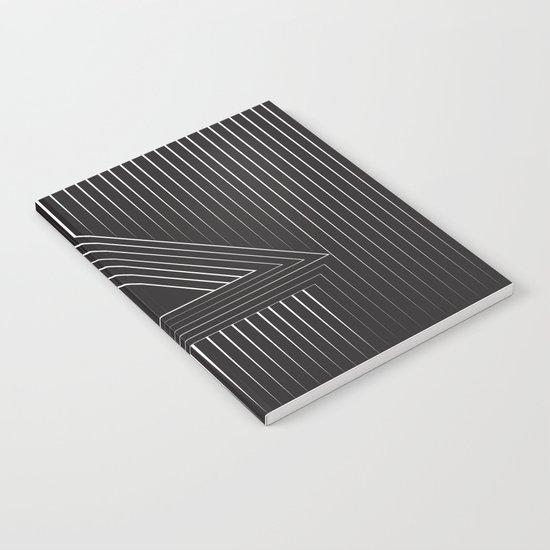 Triangular Line Notebook