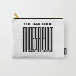 The Bar Code - Mine's a pint Carry-All Pouch
