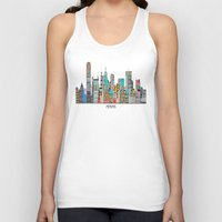 memphis Tank Tops featuring Memphis city by bri.buckley