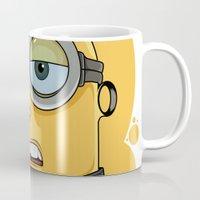 minion Mugs featuring Minion Tattooist by Vanesa Abati