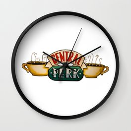 Central Perk Wall Clock
