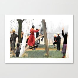 MORNING RECESS Canvas Print