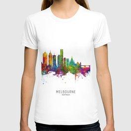 Melbourne Australia Skyline T-shirt