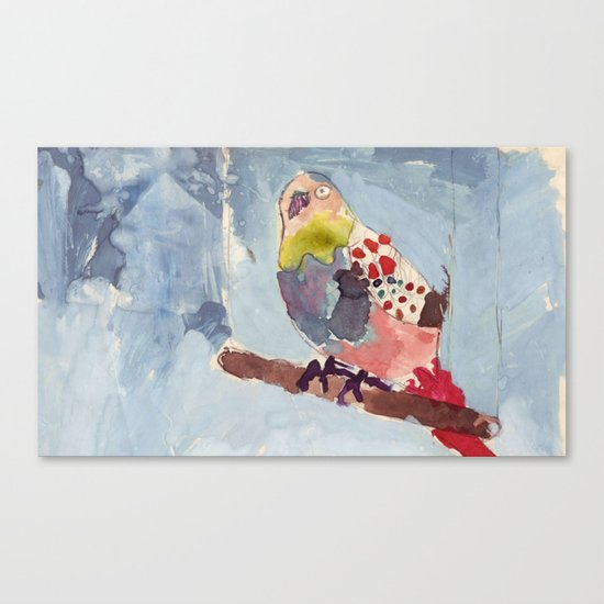 It's Raining, Birds are Singing Canvas Print