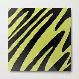 Funky Animal Metal Print