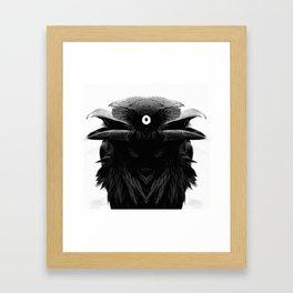 corvo Framed Art Print