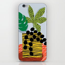 Cheeuh - hipster memphis throwback retro design minimal modern abstract shapes geometric trendy gift iPhone Skin