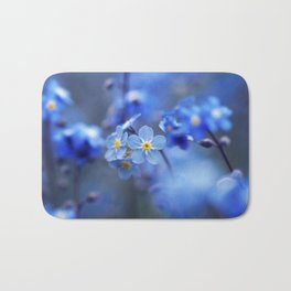 Forget Me Not Wall Decor - Scorpion Grasses Bath Mat