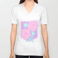 shingeki no kyojin V-neck T-shirts featuring Garrison by CLUB GALAXY