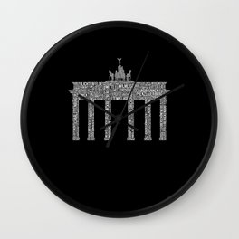 Premium Berlin District Design Wall Clock