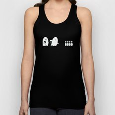 Bowling Ghost Unisex Tank Top