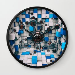 Distorted Perception Wall Clock